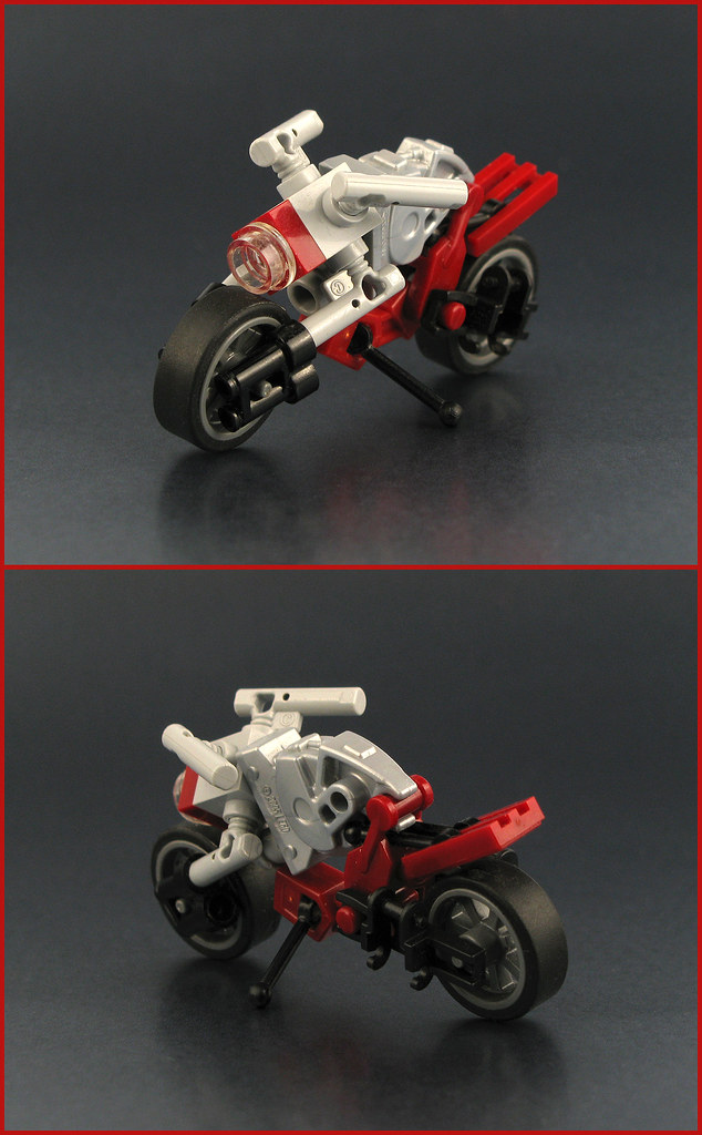 Naked Bike (custom built Lego model)