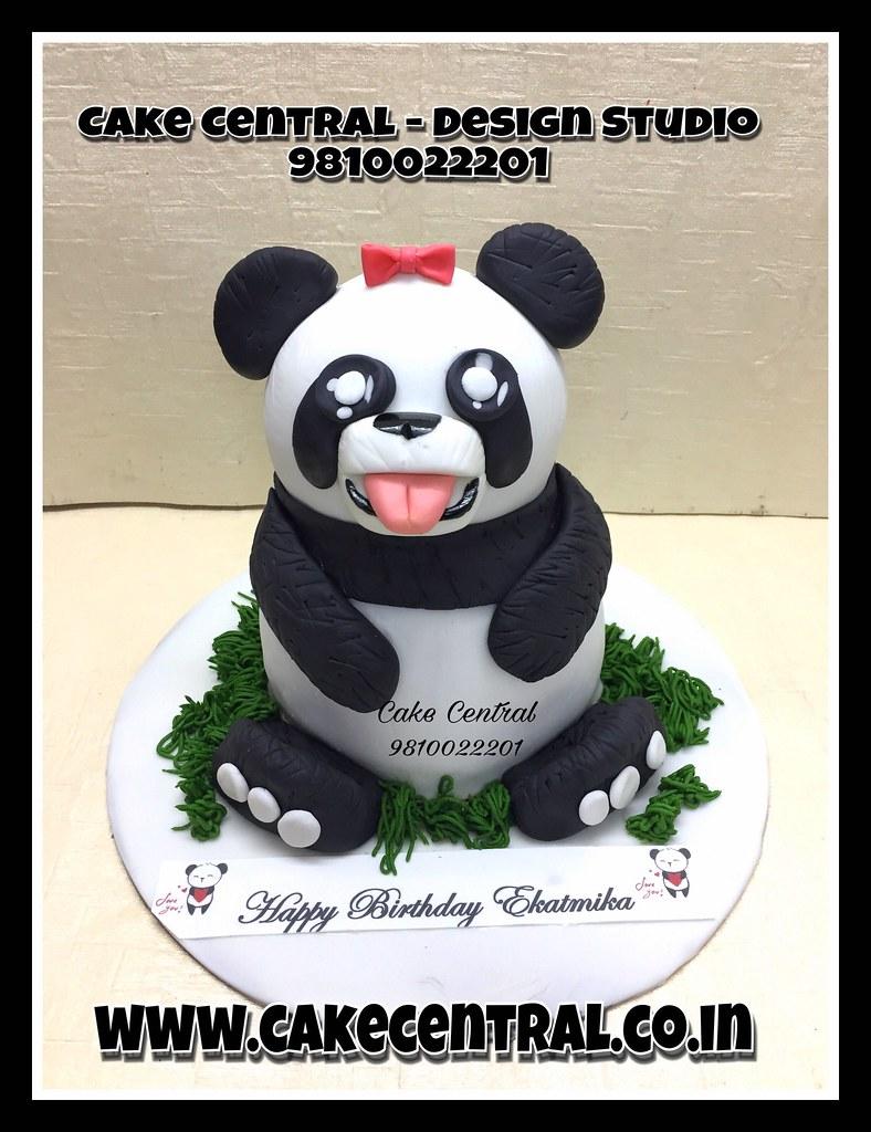 Panda Cake Panda Cake Bear Kids Birthdaycake Cake 3 Flickr