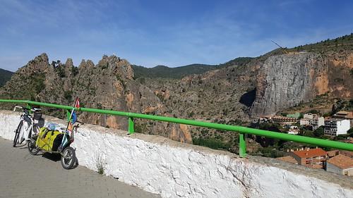 Ayna - Albacete, von den Bergen in die Ebene
