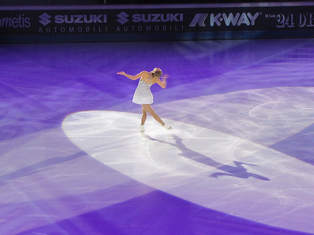 Kiira Korpi. Golden Skate, Canon POWERSHOT SX20 IS