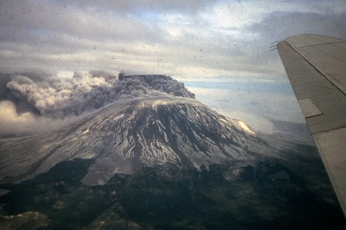 Mt. St. Helens Eruption - May 18, 1980