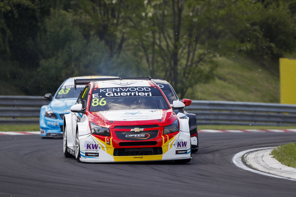 86 GUERRIERI Esteban (arg), Chevrolet RML Cruze team Campos racing, action   during the 2017 FIA WTCC World Touring Car Race of Hungary at hungaroring, Budapest from may 12 to 14 - Photo Frederic Le Floc'h / DPPI