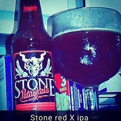 #stone #IPA #beer #redxipa #redipa #comedrinkwithme #doyouknowhowdrunkiam ?