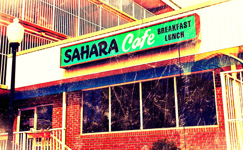 the Sahara Cafe in downton Ocean City