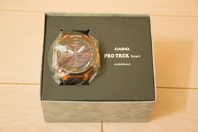 CASIO スマートアウトドアウォッチ「PRO TREK Smart WSD-F20」