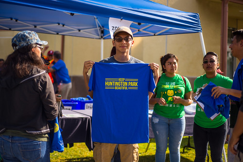 Huntington Park Earth Day Kickoff