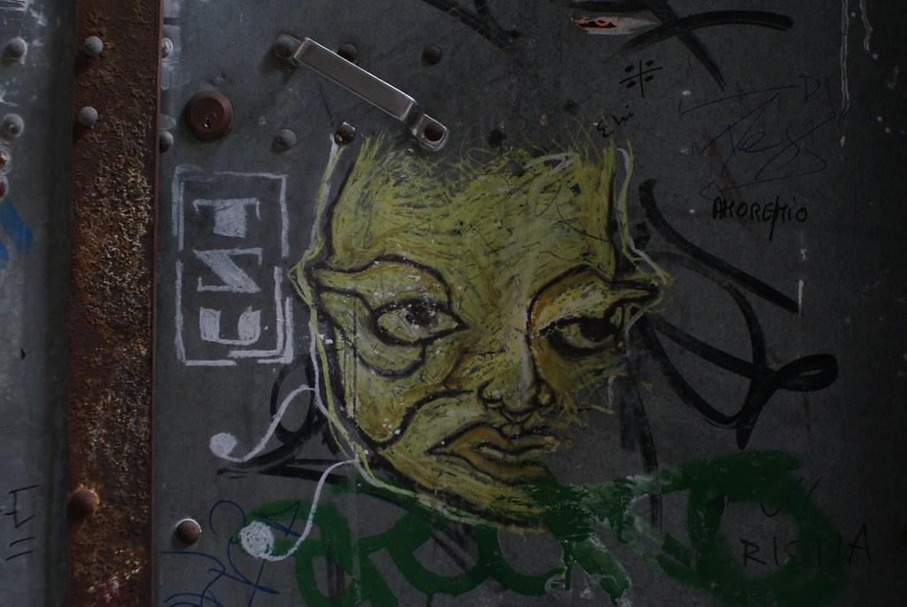 Street art et graffiti à Gênes.