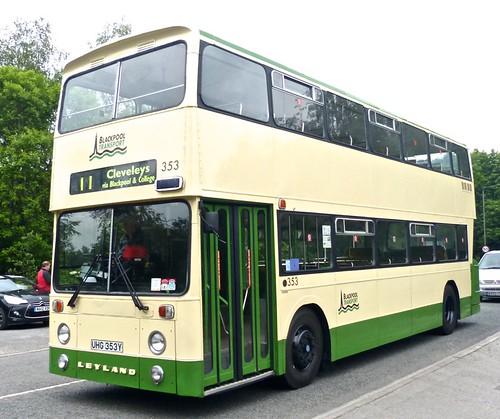 UHG 353Y 'Blackpool Transport' No. 353 Leyland Atlantean AN68D/2R / East Lancs on Dennis Basford's 'railsroadsrunways.blogspot.co.uk'