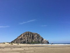 It's bright and clear and beautiful in Morro Bay today