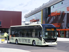 Full Electric Volvo  7900 bus