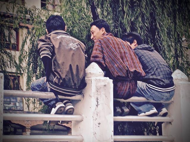 Young Men, Bhutan