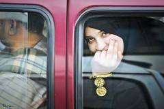 Car ride in Cairo