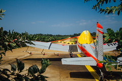 Crop-Spraying Airplane, Riohacha Colombia