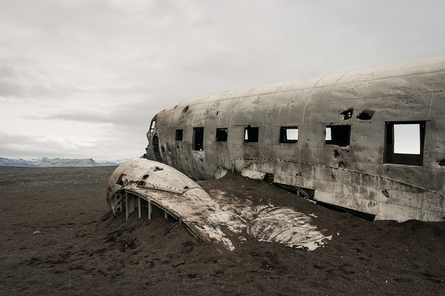 Wreck Douglas DC3 Dakota - Sólheimasandur - Islande - 2016