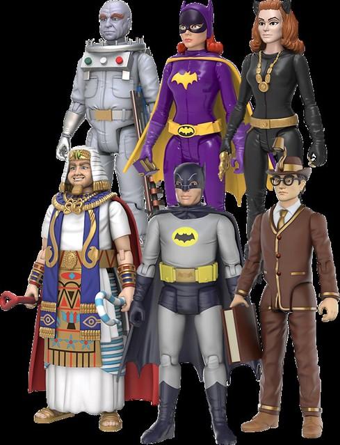 """復古味滿滿滿~蝙蝠俠1966年經典電視劇版本 3.75 吋可動人偶作品 Batman - Batusi 3.75"""" Action Figure"""