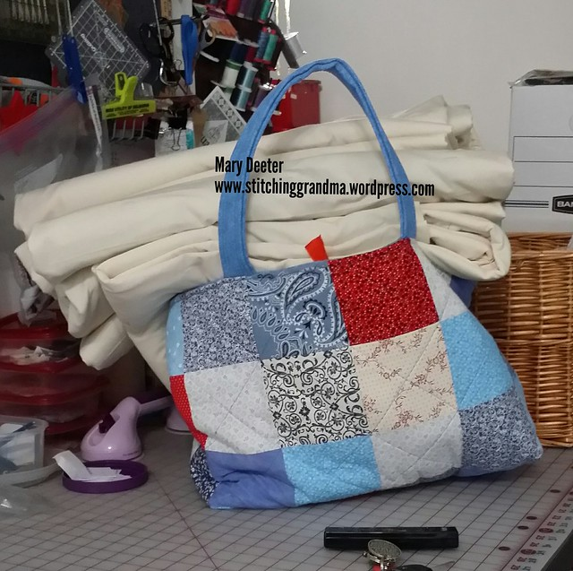 3 quilts overloaded my bag