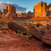 First Light in Arches by James Neeley