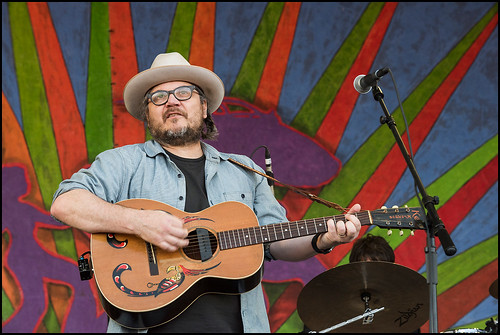 Wilco on Jazz Fest Day 5 on May 5, 2017. Photo by Ryan Hodgson-Rigsbee www.rhrphoto.com