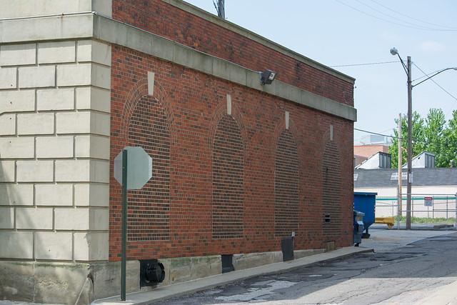bricked windows Fenway Hall