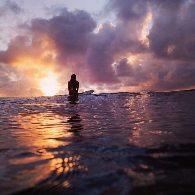 the best kind of sunset watching ✨ @lex.weinstein