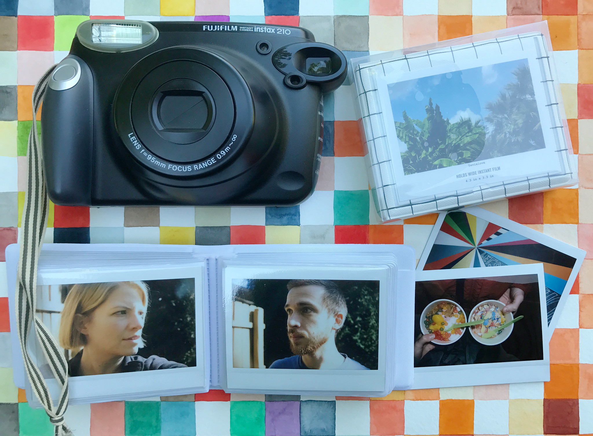 Fuji Instax Wide Picture Album At Inspiration Junkie Robayrecom