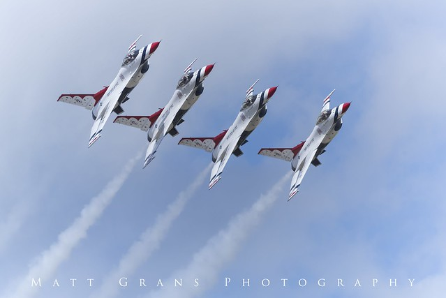 Thunderbirds Flight Formation