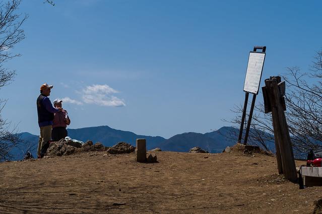 川苔山山頂