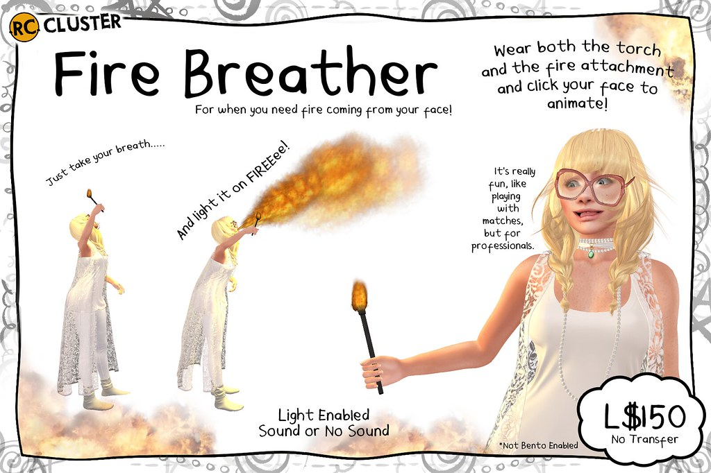 -RC- Fire Breather at TCF! - SecondLifeHub.com