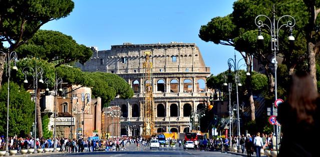Closseum, Roma, Nikon D5300, AF-S DX VR Zoom-Nikkor 18-200mm f/3.5-5.6G IF-ED [II]