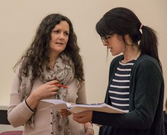 Suffragettes project - rehearsal, 29 April - 10