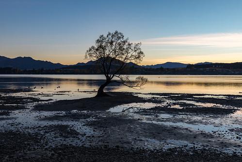 sunrise wanaka otago newzealand nz