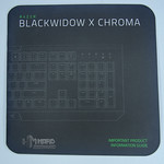 Razer Blackwidow X Chroma 9