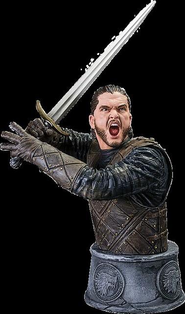 Dark Horse Comics 冰與火之歌系列【瓊恩·雪諾】Jon Snow 半身胸像