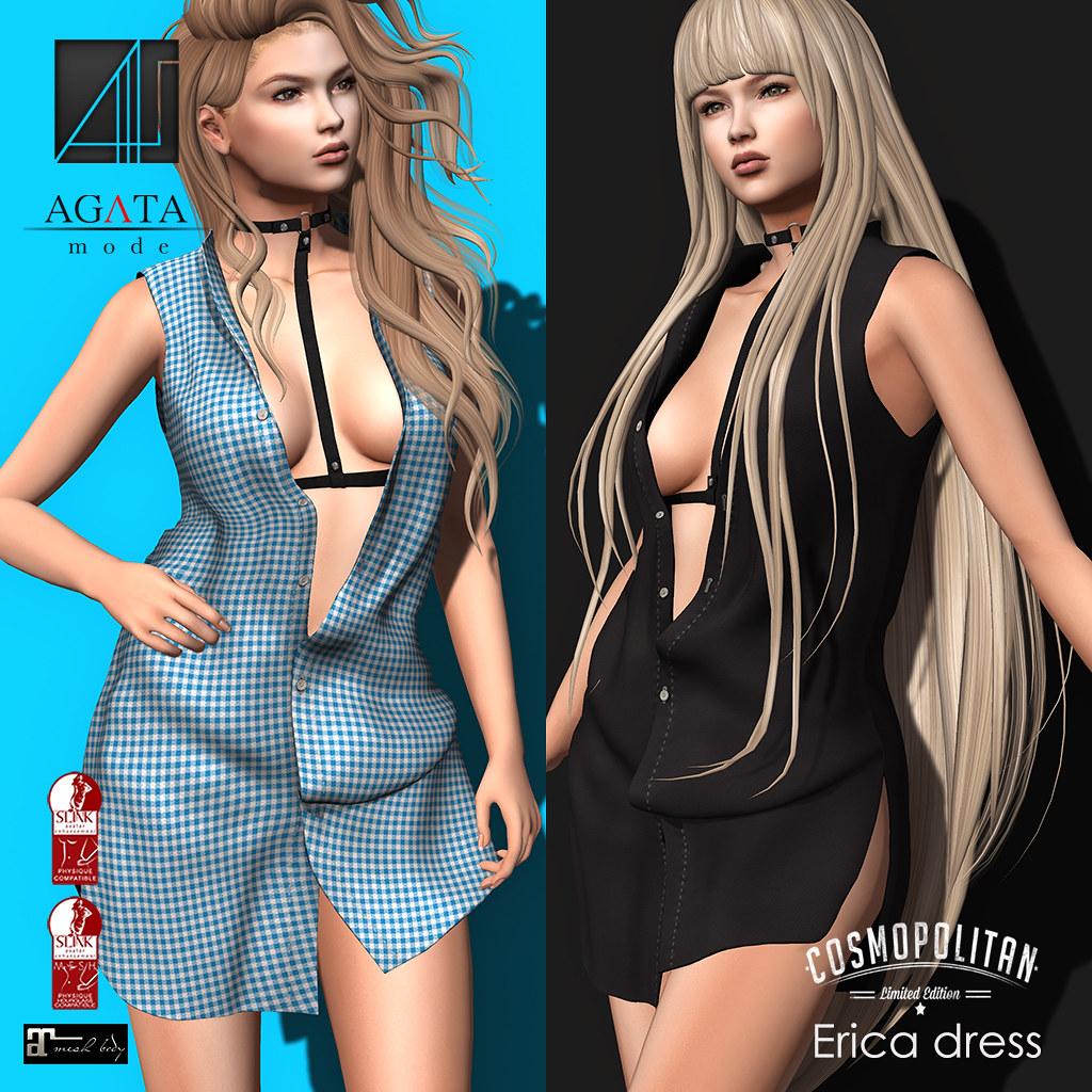 Erica dress @ cosmopolitan - SecondLifeHub.com