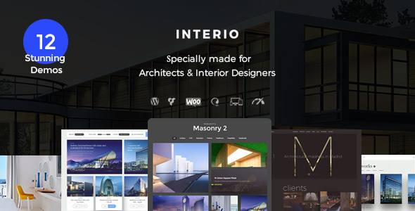 Interio v1.1 - Interior Design Architecture