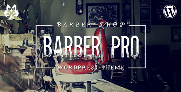 Barber Pro v2.0.8 - Professional Barber Shop WordPress Theme