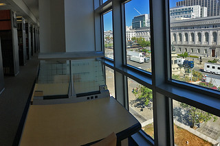 SF Public Library - Main branch 5flr windows