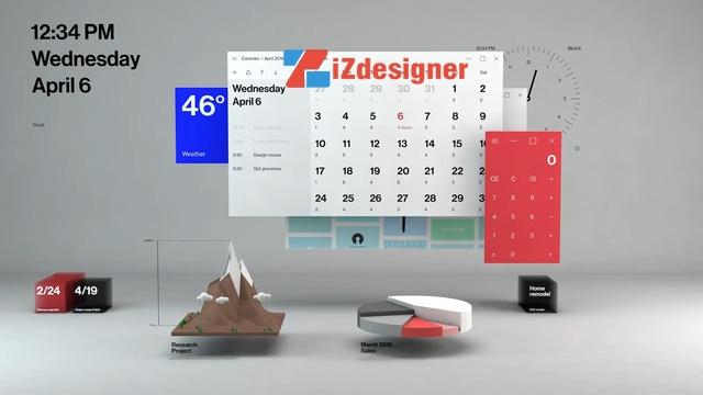 Phong cách thiết kế Fluent Design của Microsoft