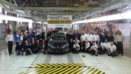 40.000 unidades de Chevrolet Cruze fabricada en Argentina