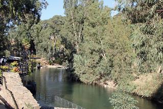 Yardenit Baptisme Site at the Jordan River