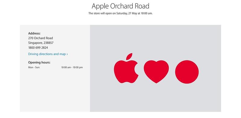 Apple Singapore Store Opening