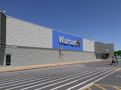 Walmart Bartlett, exterior repaint complete