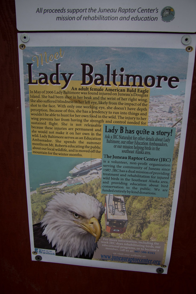 Sign about Lady Baltimore