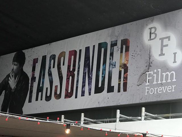 Fassbinder at the BFI