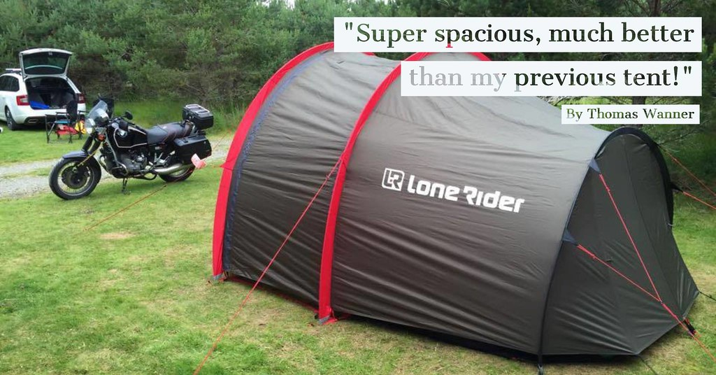 The Best Motorcycle Tent! By Lone Rider & LONE RIDER MOTOu0027s most interesting Flickr photos   Picssr