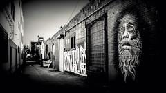 Skid row alley