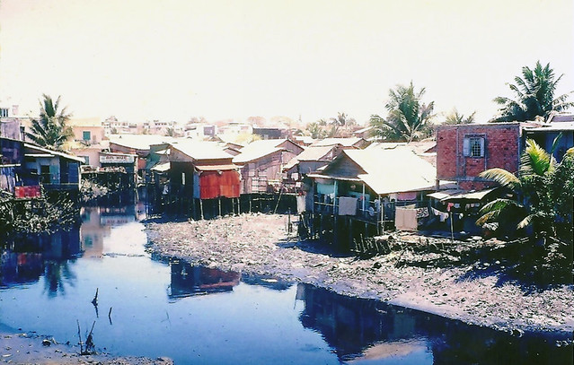 SAIGON 1966-67 by Allen McKenzie - Rạch Nhiêu Lộc (là phần cuối của rạch Thị Nghè)
