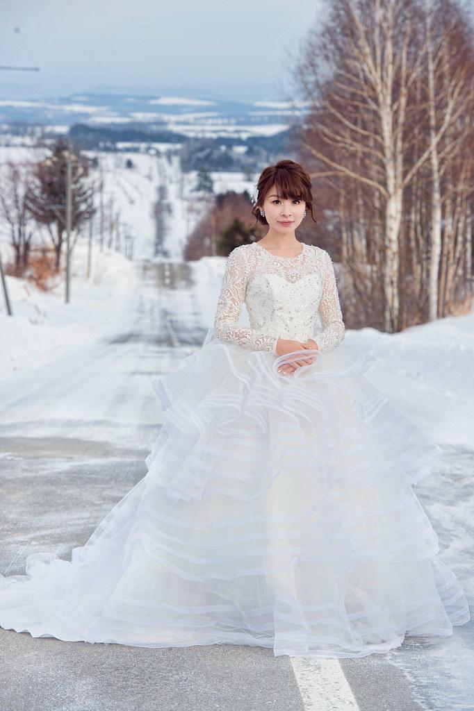 """""""雪地婚紗,北海道婚紗,婚攝Mike,婚禮攝影,婚攝推薦,婚攝價格,海外婚紗,海外婚禮,風格攝影師,新秘Juin,wedding"""""""