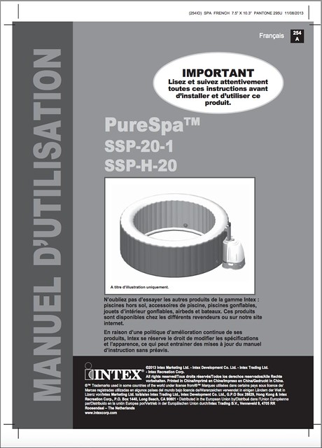 Pure SPA INTEX