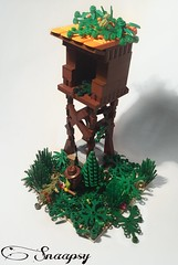 Tower in Forest